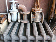 Вывоз старых чугунных радиаторов отопления на металлолом.