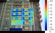 Проверка зданий и сооружений тепловизором.