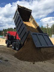 Доставка песка,  плодородной земли,  вывоз грунта